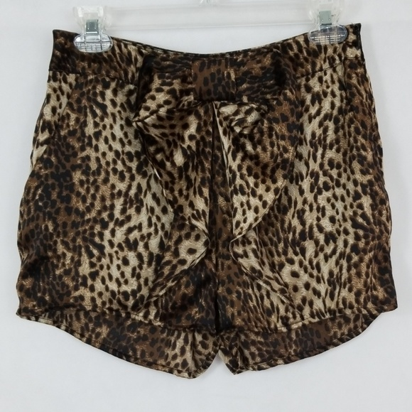 Ark & Co Pants - Ark & Co Bow Front Shorts Size S